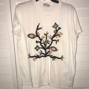 Zara graphic tee
